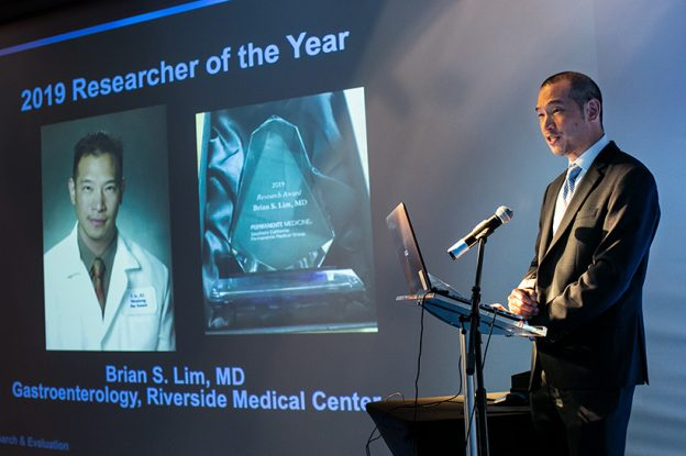 Featured Image of News Story Titled: Dr. Brian Lim named SCPMG Physician Researcher of the Year